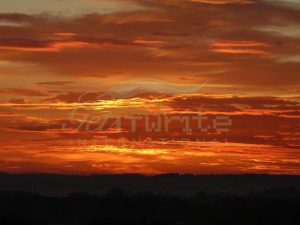 Flaming Sunrise - Get IT Write International
